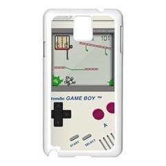 Game Boy White Samsung Galaxy Note 3 N9005 Case (white)