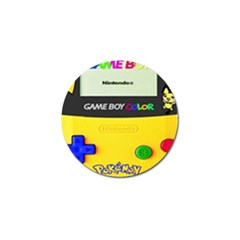 Game Boy Yellow Golf Ball Marker (4 Pack) by Samandel