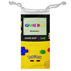 Game Boy Yellow Jewelry Bag by Samandel