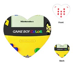 Game Boy Yellow Playing Cards (heart)