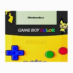 Game Boy Yellow Small Glasses Cloth (2 Side)