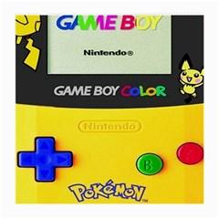 Game Boy Yellow Medium Glasses Cloth by Samandel