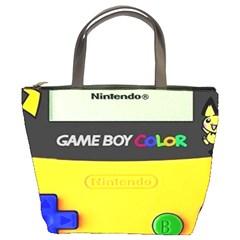 Game Boy Yellow Bucket Bags