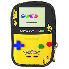 Game Boy Yellow Compact Camera Cases