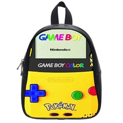 Game Boy Yellow School Bag (small)