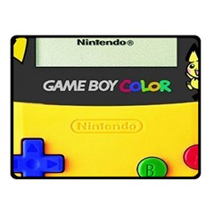 Game Boy Yellow Fleece Blanket (small)