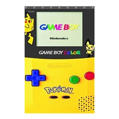 Game Boy Yellow Shower Curtain 48  X 72  (small)