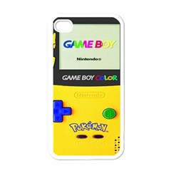 Game Boy Yellow Apple Iphone 4 Case (white)