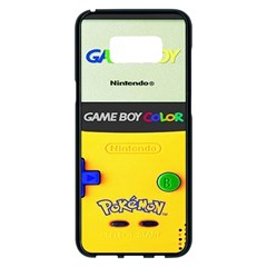 Game Boy Yellow Samsung Galaxy S8 Plus Black Seamless Case