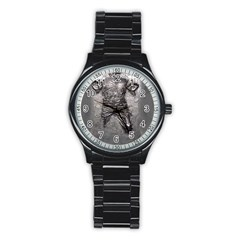 Han Solo Stainless Steel Round Watch