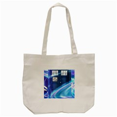 Tardis Space Tote Bag (cream)