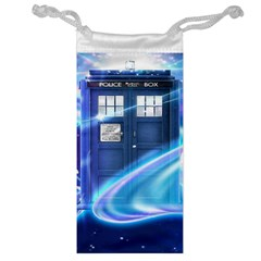 Tardis Space Jewelry Bag