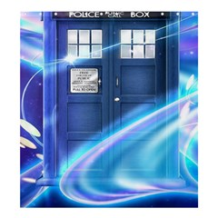 Tardis Space Shower Curtain 66  X 72  (large)