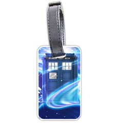Tardis Space Luggage Tags (one Side)