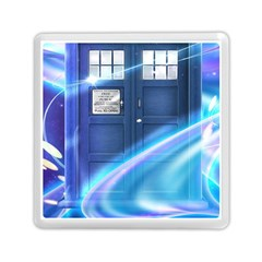 Tardis Space Memory Card Reader (square)