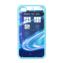 Tardis Space Apple Iphone 4 Case (color) by Samandel