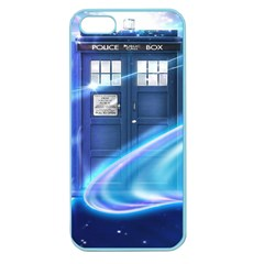 Tardis Space Apple Seamless Iphone 5 Case (color)