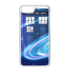 Tardis Space Apple Iphone 8 Plus Seamless Case (white) by Samandel
