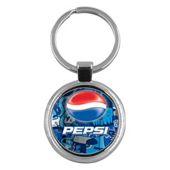 Pepsi Cans Key Chains (round)