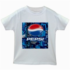 Pepsi Cans Kids White T Shirts
