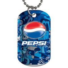 Pepsi Cans Dog Tag (one Side)
