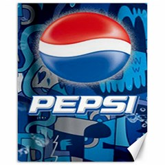 Pepsi Cans Canvas 16  X 20