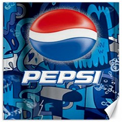 Pepsi Cans Canvas 20  X 20   by Samandel