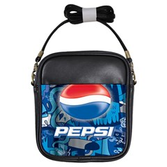 Pepsi Cans Girls Sling Bags