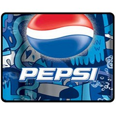 Pepsi Cans Fleece Blanket (medium)
