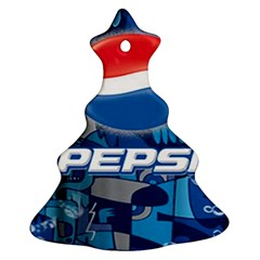 Pepsi Cans Ornament (christmas Tree)