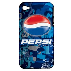 Pepsi Cans Apple Iphone 4/4s Hardshell Case (pc+silicone)