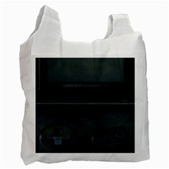 Game Boy Black Recycle Bag (two Side)