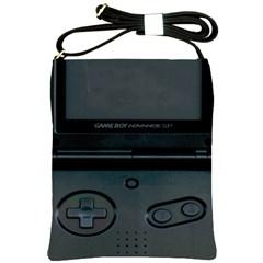 Game Boy Black Shoulder Sling Bags
