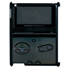 Game Boy Black Apple Ipad 2 Case (black)