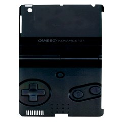 Game Boy Black Apple Ipad 3/4 Hardshell Case (compatible With Smart Cover)
