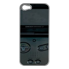 Game Boy Black Apple Iphone 5 Case (silver)