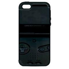 Game Boy Black Apple Iphone 5 Hardshell Case (pc+silicone)