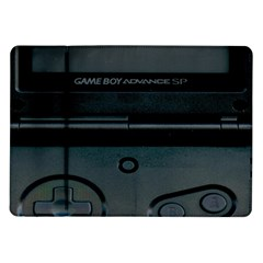 Game Boy Black Samsung Galaxy Tab 10 1  P7500 Flip Case