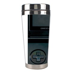 Game Boy Black Stainless Steel Travel Tumblers