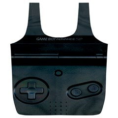 Game Boy Black Full Print Recycle Bags (l)