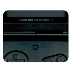 Game Boy Black Double Sided Flano Blanket (large)