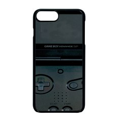 Game Boy Black Apple Iphone 7 Plus Seamless Case (black)