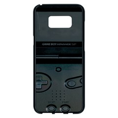 Game Boy Black Samsung Galaxy S8 Plus Black Seamless Case