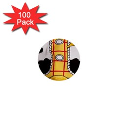 Woody Toy Story 1  Mini Buttons (100 Pack)