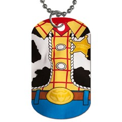 Woody Toy Story Dog Tag (one Side)