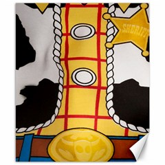 Woody Toy Story Canvas 8  X 10