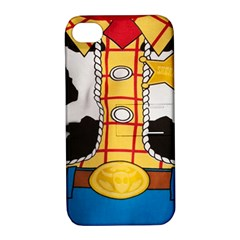 Woody Toy Story Apple Iphone 4/4s Hardshell Case With Stand