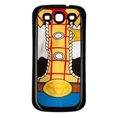 Woody Toy Story Samsung Galaxy S3 Back Case (black)