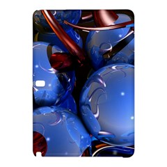 Spheres With Horns 3d Samsung Galaxy Tab Pro 12 2 Hardshell Case by Sapixe