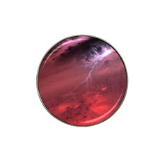Storm Clouds And Rain Molten Iron May Be Common Occurrences Of Failed Stars Known As Brown Dwarfs Hat Clip Ball Marker (4 Pack) by Sapixe